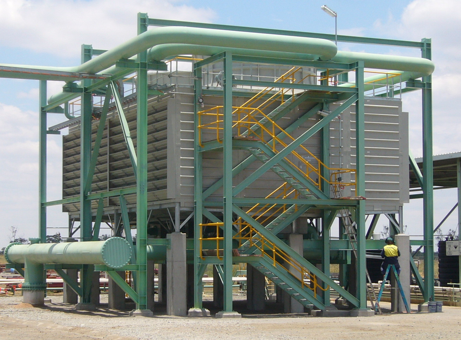 Industrial Cooling Towers : Txi industrial cooling tower thermal